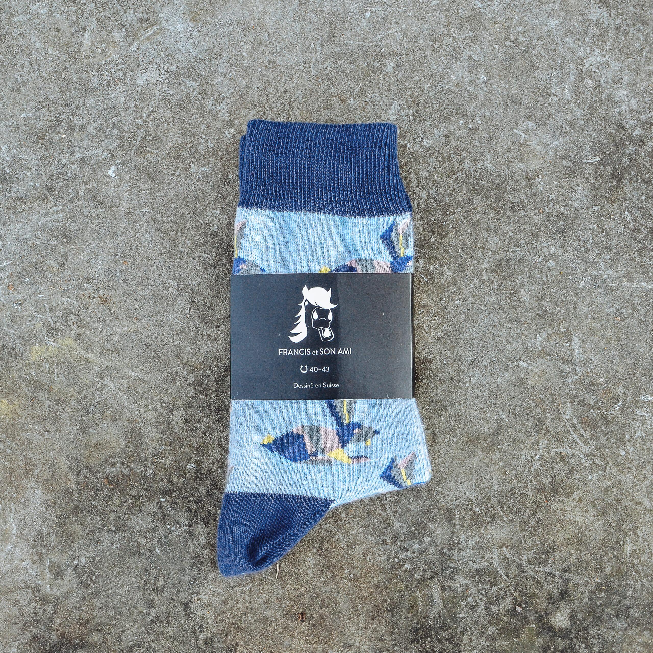 Farbige Socken Bunny von FRANCIS et SON AMI