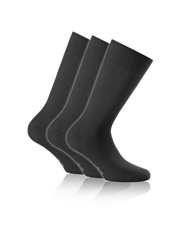 Rohner WOOL / COTTON Socken 3er Pack