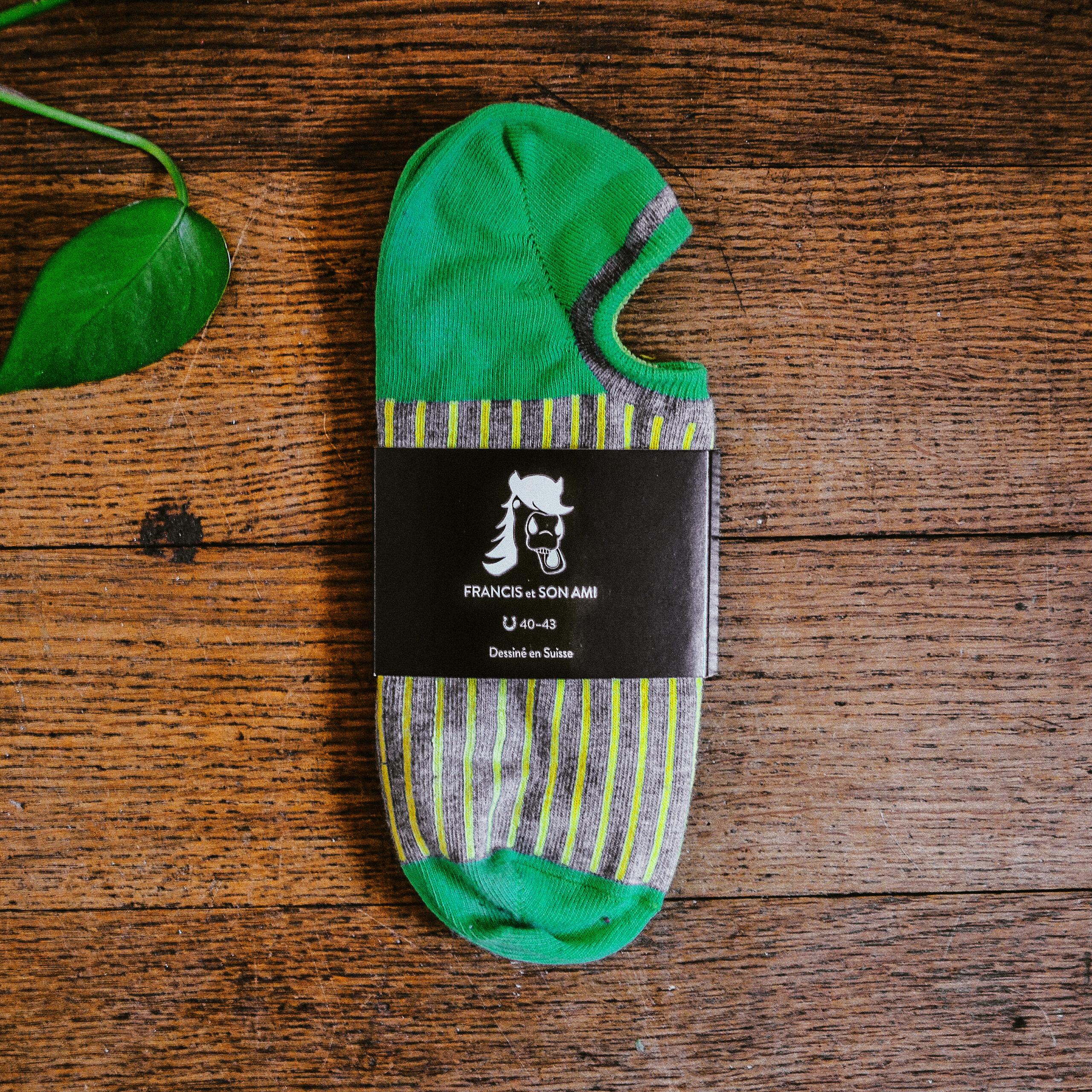 Farbige Sneaker Socken Eli von FRANCIS et SON AMI