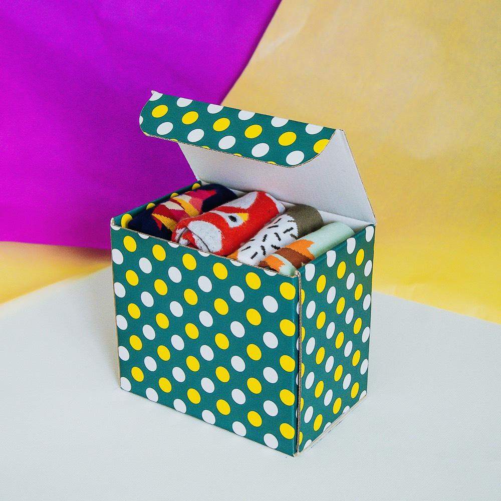 Farbige Socken Sockenbox Surprise - 36-39
