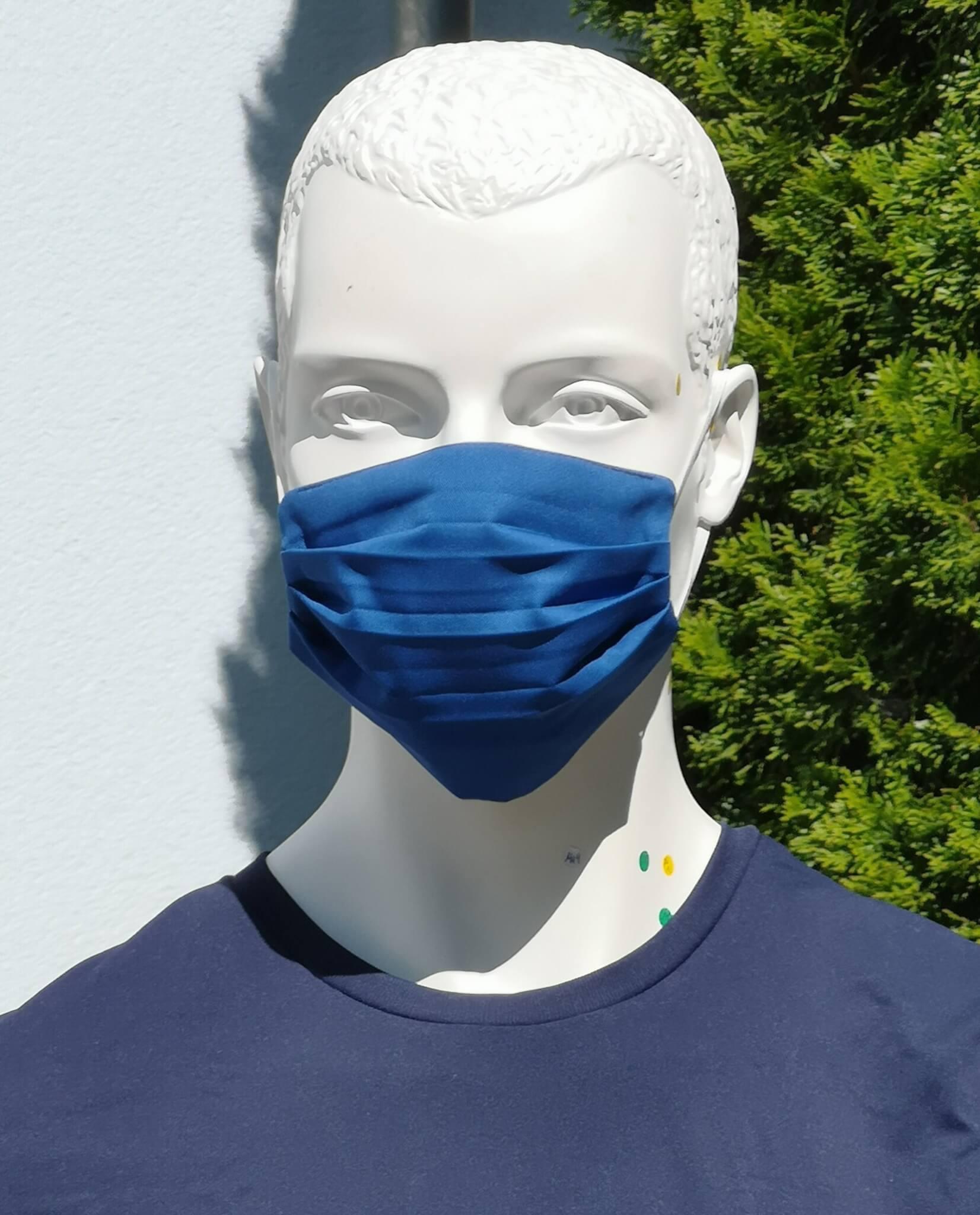 Stoffmaske Waschbar aus Schweizer Produktion