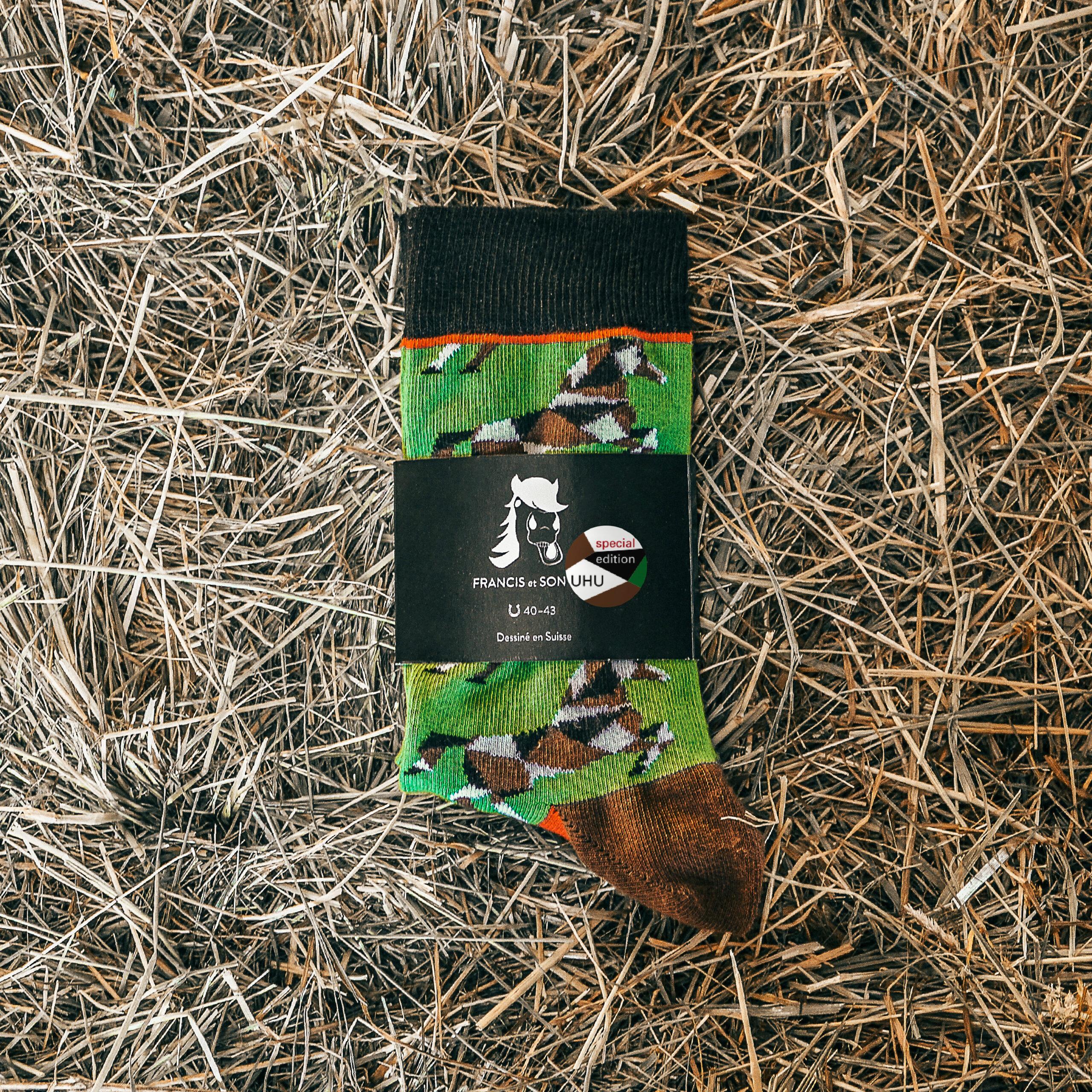 Farbige Socken UHU von FRANCIS et SON AMI
