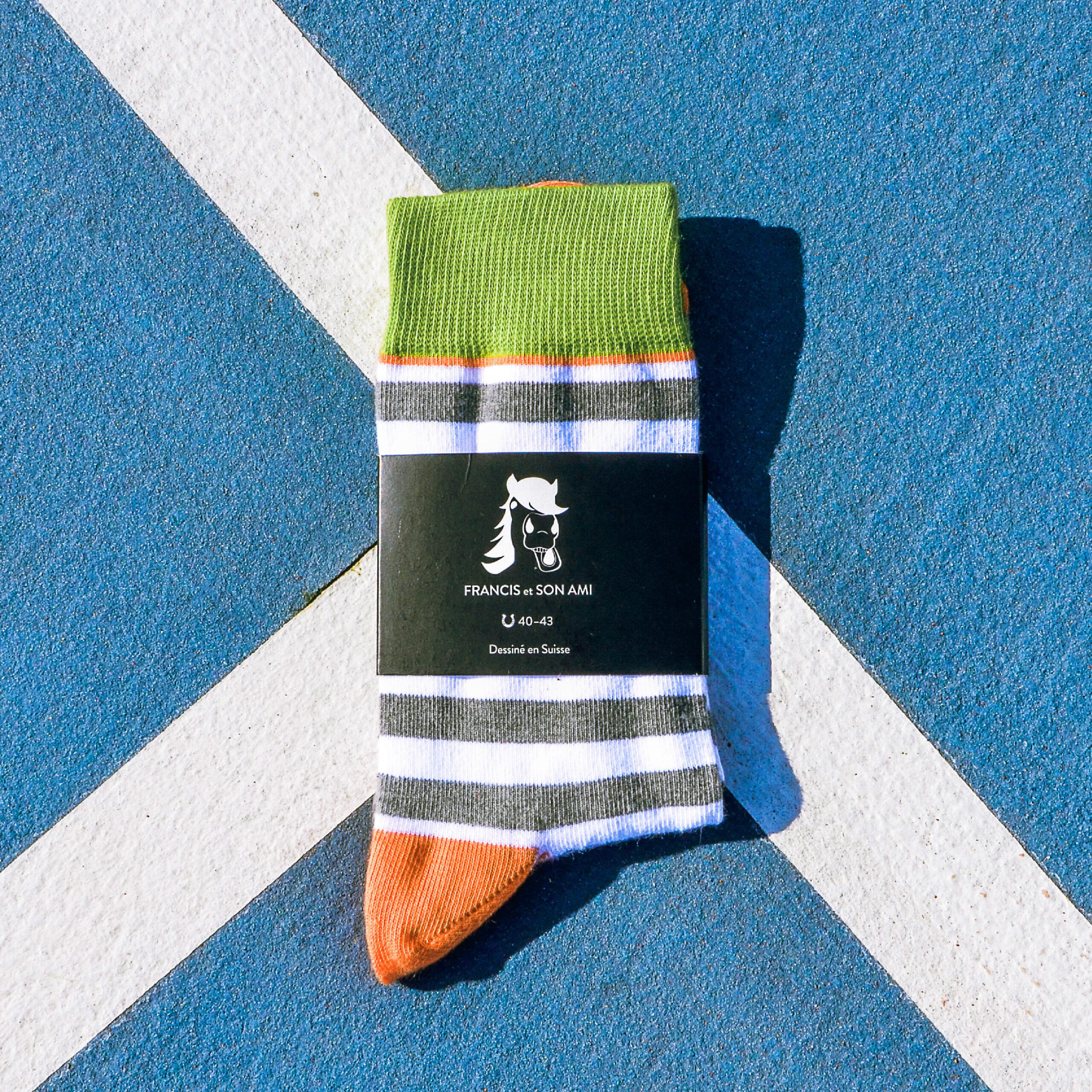 Farbige  Socken Kasimir von FRANCIS et SON AMI