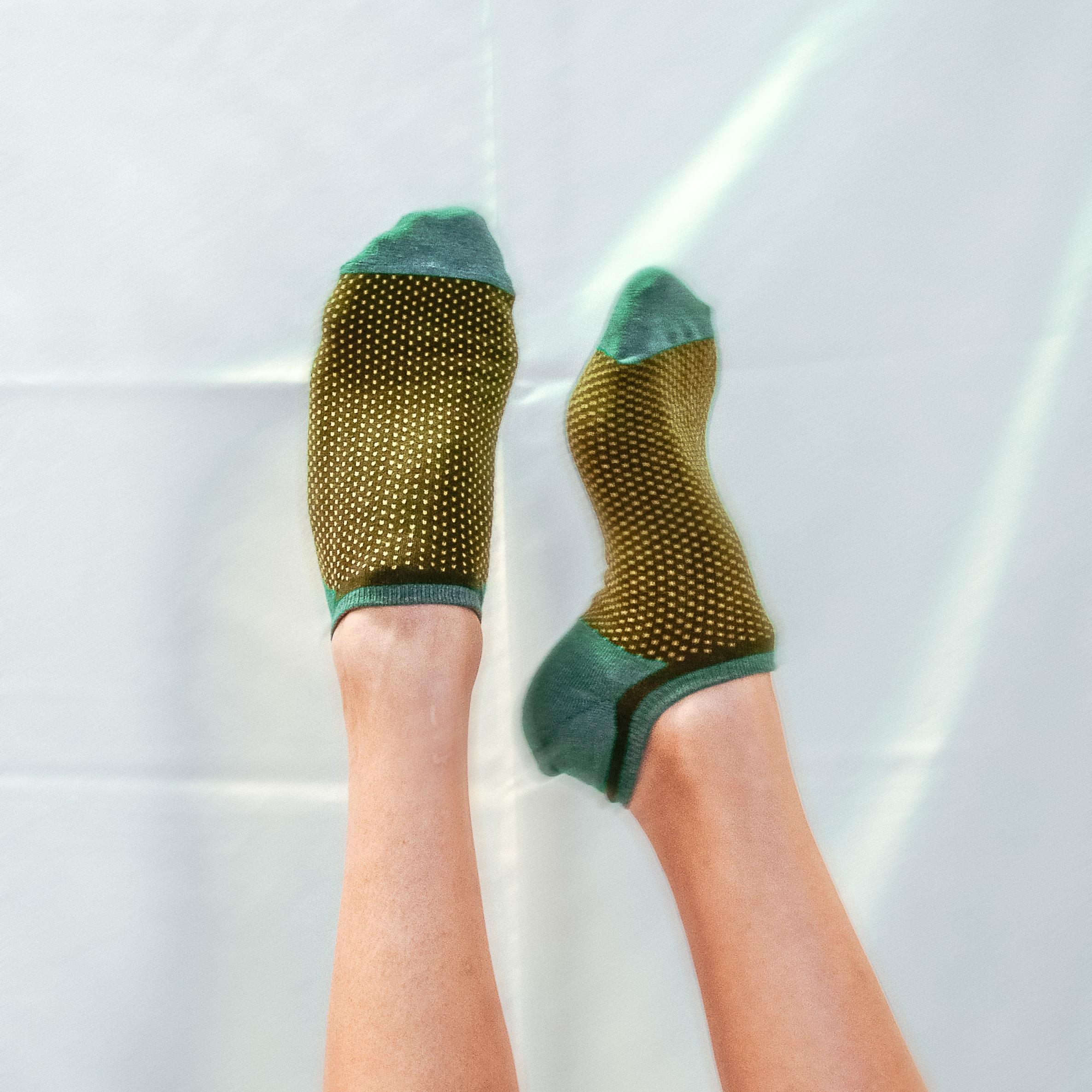 Farbige Sneaker Socken Tizi von FRANCIS et SON AMI