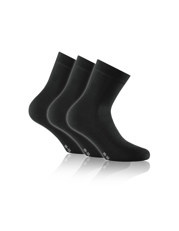 Rohner Socken Basic aus Bambus Soft Touch 3er